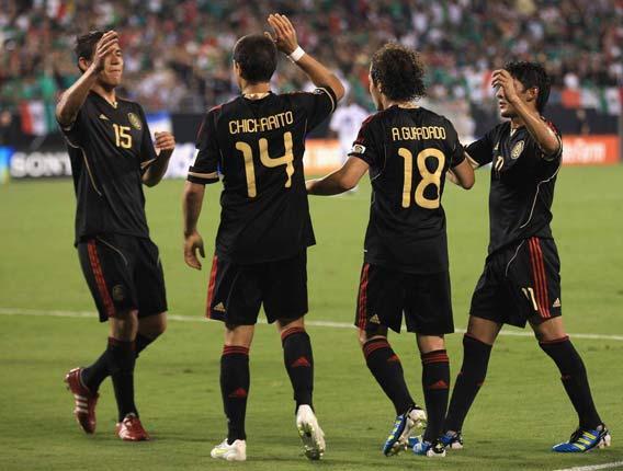 The suspended quintet missed last night's 5-0 win over Cuba