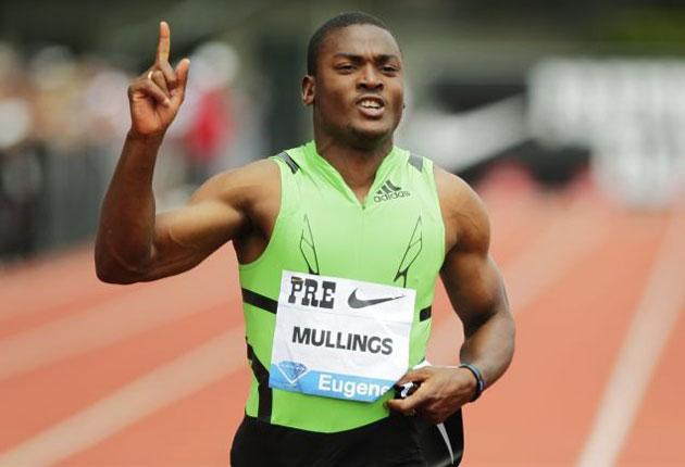 The Jamaican sprinter won in the Diamond League in 9.80sec last weekend and will pose a major threat to Tyson Gay