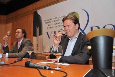 Andreas Larsson, Best Sommelier of the World 2007 at Vinexpo 2009.