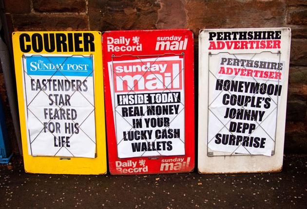 Going South: As more titles in Scotland come under threat, will the news agenda be set in London?