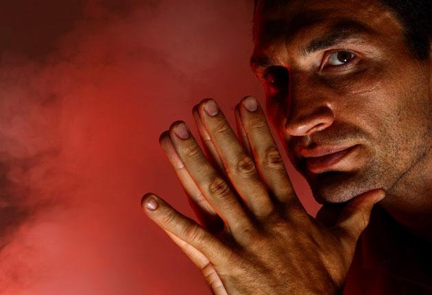 Inside the ring Wladimir Klitschko is ferocious but he is a different proposition outside it