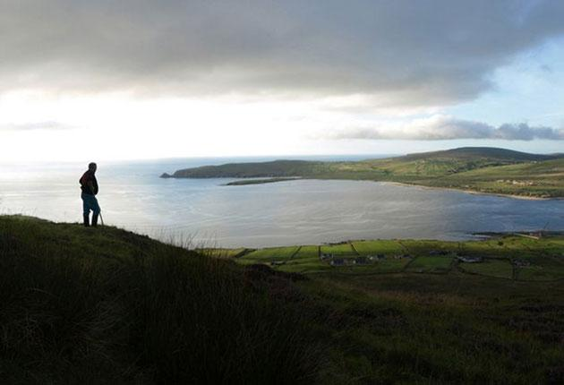 A panorama of Rossport, County Mayo