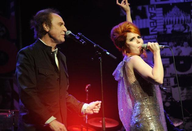 Pop idols: Ray Davies and Paloma Faith