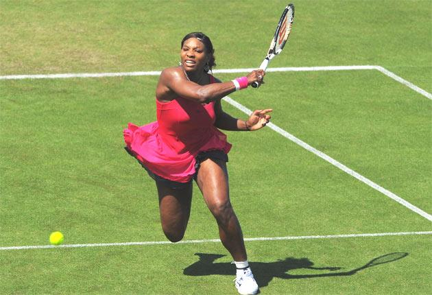 Serena Williams hits out during her hard-fought victory