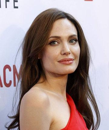 Foreign Ministry spokesman Selcuk Unal said an application to visit the refugees has been made on behalf of the Hollywood actress (pictured)