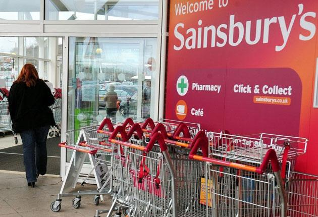 The supermarket hailed a solid sales performance in a challenging environment today