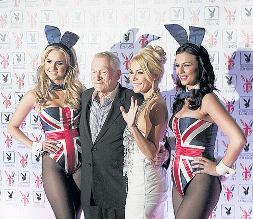 Hugh Hefner reopens the Playboy Club in London - a moment to consider the vexed question of what women - and men - mean when they dress to display
