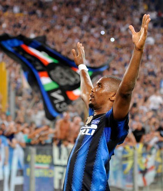 Eto'o has three years to run on his Inter contract