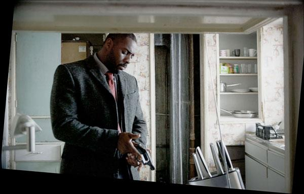 On target: 'Luther' occasionally features lines that makes it credible as a true-to-life portrayal of police procedure