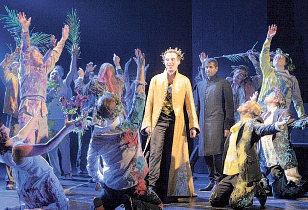 Crowning glory: Andrew Scott as Julian the Apostate