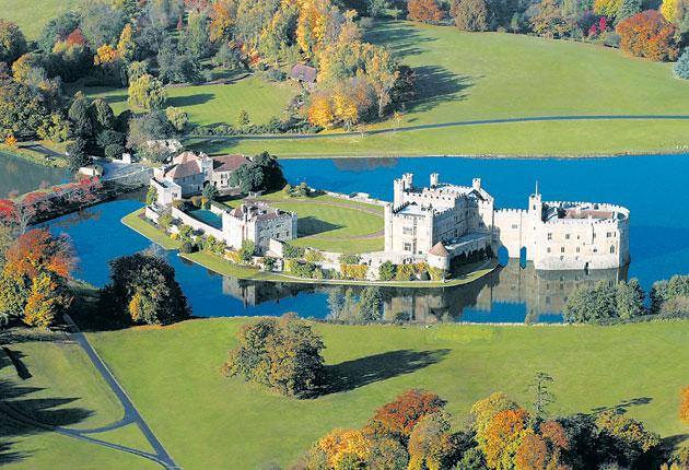 Leeds Castle in Kent (unless you're convinced it can be found in Yorkshire)