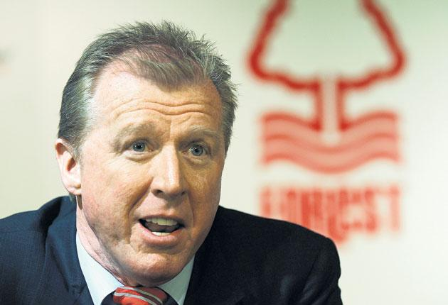 Steve McClaren is unveiled as Nottingham Forest manager - his first job in Britain since his ill-fated time in charge of England