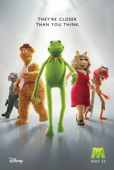 The Muppets opens on November 23.