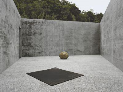 Lee Ufan: Relatum—a signal, 2005