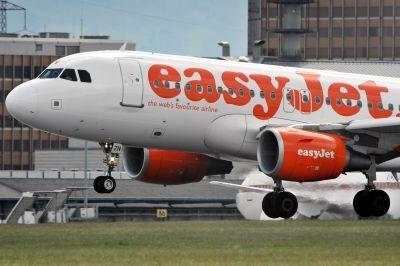 A plane of low cost airline easyJet