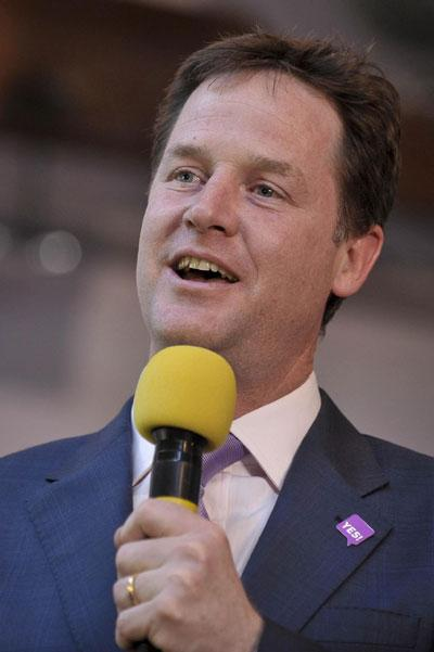 Nick Clegg has been making free with his witticisms