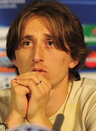 Luka Modric claimed Spurs would consider selling him but chairman Daniel Levy disagreed GETTY