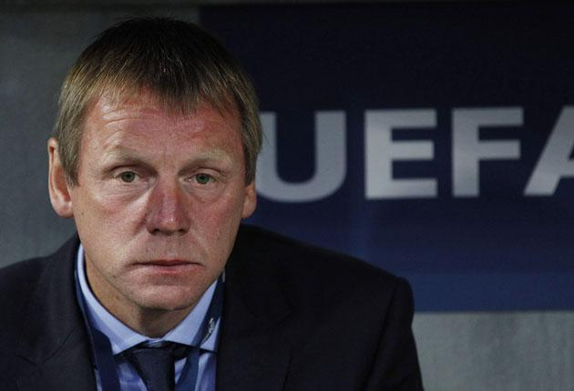 Stuart Pearce faces up to England's cruel elimination