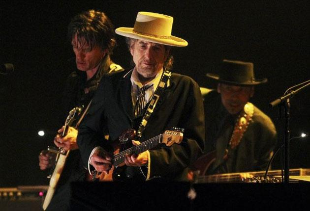 Tangled up in green: Bob Dylan at the London Feis