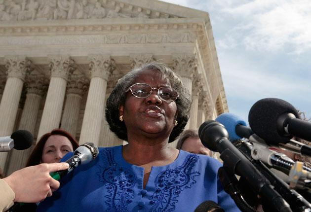 Betty Dukes was the original plaintiff in the case, claiming she had been denied training at Wal-Mart