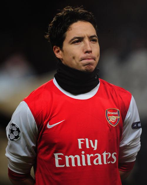 <b>Samir Nasri</b><br/> Arsenal midfielder Nasri has just 12 months to run on his contract making his future at the Emirates uncertain. During the first half of last season the Frenchman was among the top performers in the league and would prove a great a