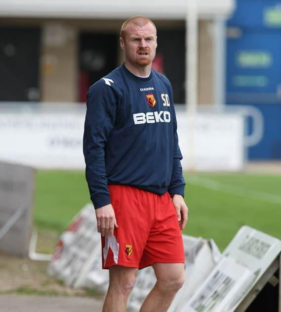 Dyche was the assistant manager