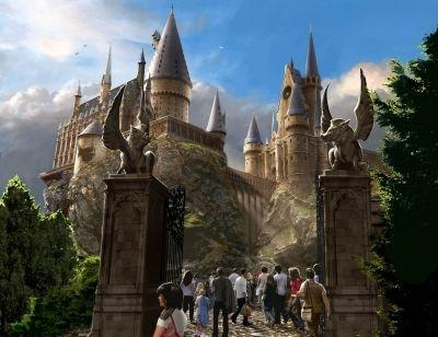 The Wizarding World of Harry Potter at Universal Orlando Resort.
