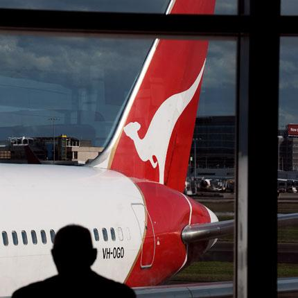 Australia's flagship carrier said today it had reached a £62m settlement with Rolls-Royce