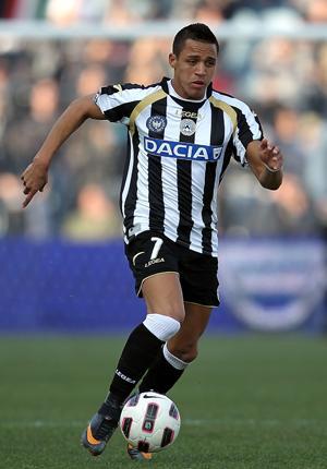Sanchez scored 12 goals for Udinese last season