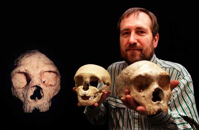 Professor Stringer is a leading researcher of human origins at The Natural History Museum