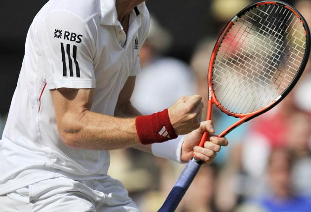 Andy Murray (above) - runner-up in three Grand Slam finals - has the misfortune to be playing in the same era as all-time greats Roger Federer and Rafael Nadal