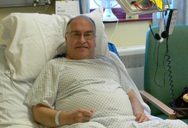 Roger, 61, from Watford, was diagnosed with Type 2 diabetes in 2000. He had his leg amputated below the knee after developing ischaemia (blood supply damage).