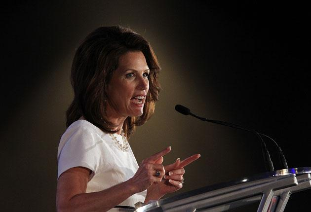 Ms Bachmann is learning about the perils of life in the glare of a media spotlight