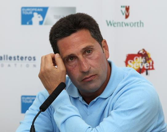 Olazabal also pulled out of the French Open starting on Thursday