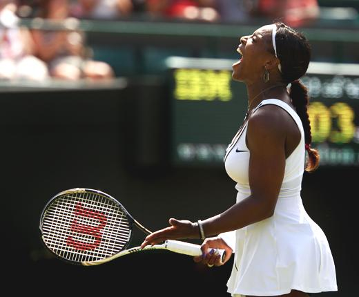 Serena Williams was frustrated by Bartoli