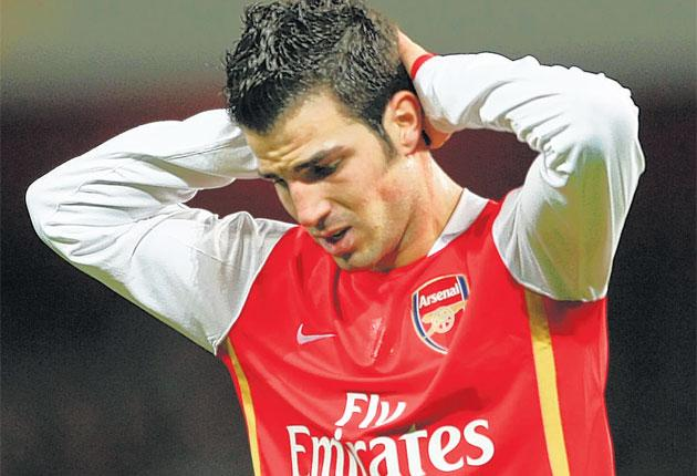 Fabregas suffered as Arsenal's season faded away once more after promising so much