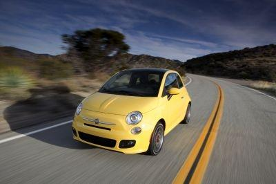 The Fiat 500 has been named the coolest car under $18,000 by Kbb.com.