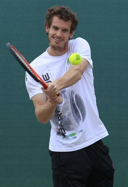 Andy Murray: 'The harder I work, the luckier I get'