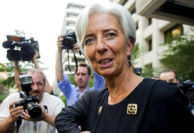Christine Lagarde said she would bring her 'expertise as a woman' to the IMF job