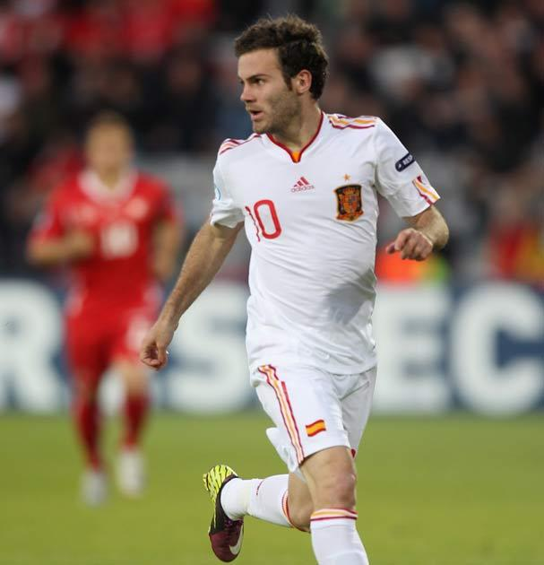 Mata helped Spain win the European Under-21 Championships
