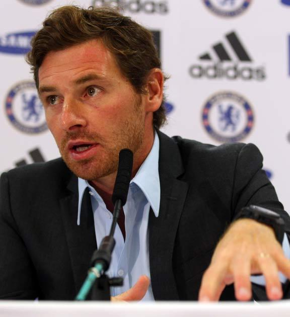 Villas-Boas conducted his first press conference yesterday