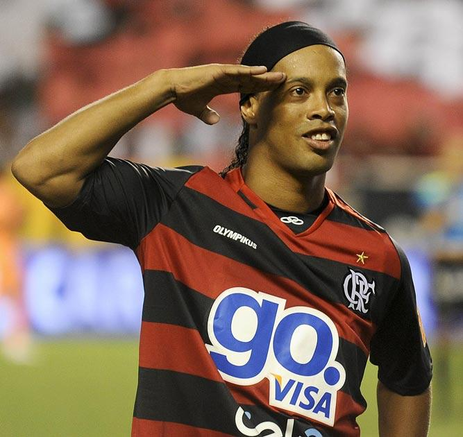 Ronaldinho has been back at his best in recent weeks