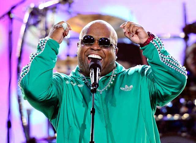 Cee Lo Green performs during the NBA All-Star Saturday night in Los Angeles earlier this year