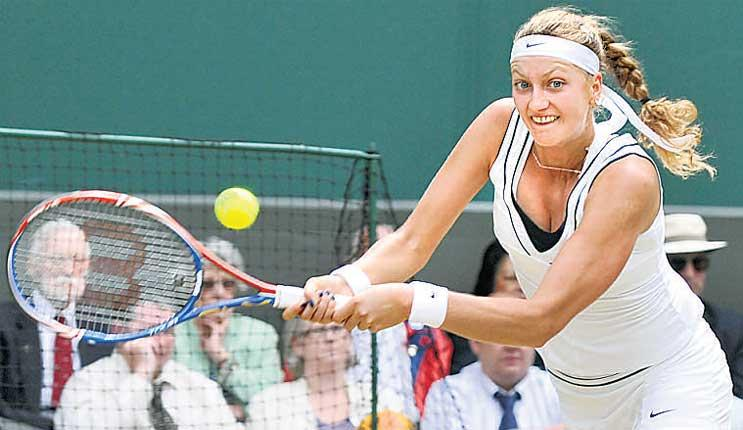 'It's something unbelievable to be in the final,' said Petra Kvitova