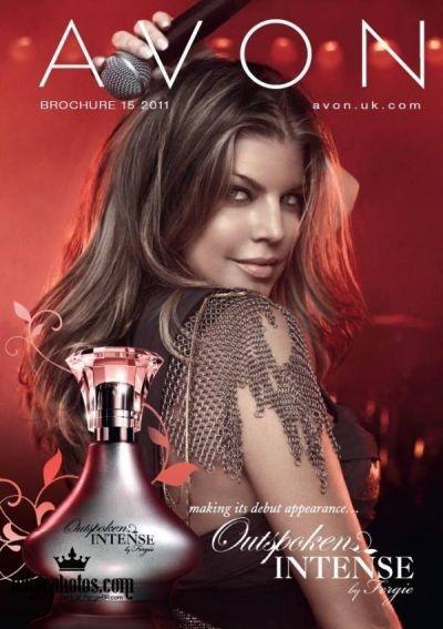 Fergie's Outspoken Intense fragrance
