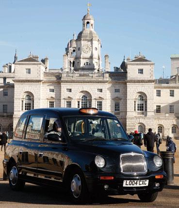 Grange's black cab redesign (1997)