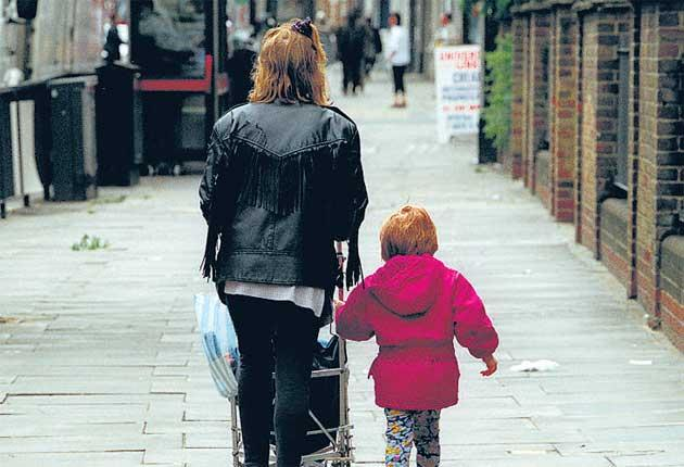 Nine out of 10 of single parents left holding the baby are women. MPs want to ensure that three million children living in split families get more financial security