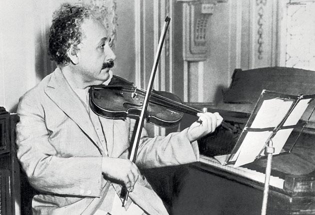 18÷12 overture: Albert Einstein may have been able to wield a bow, but products that aim to use music to make children smarter might not be as useful as they claim