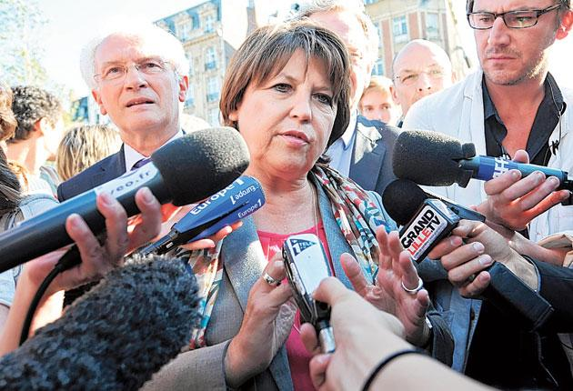 Martine Aubry, French Socialist party leader, may just have received a boost from the rape claims made by writer Tristane Banon