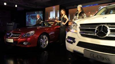 German-made Mercedes-Benz SL350 and GL500 being launched